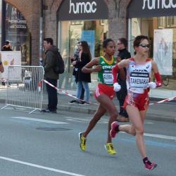 2014 世界ハーフマラソン・コペンハーゲン大会の結果