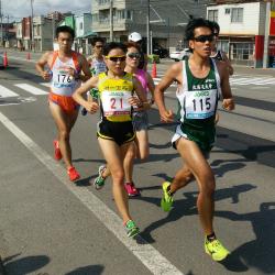 函館ハーフマラソンの結果