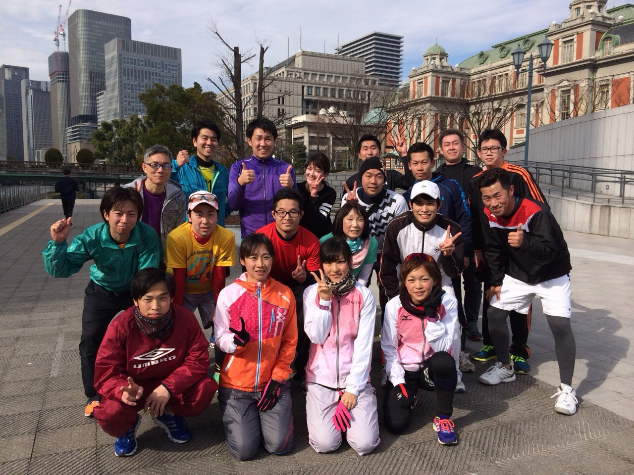 10k(ランクラOB堀岡さん、吉川、会津)