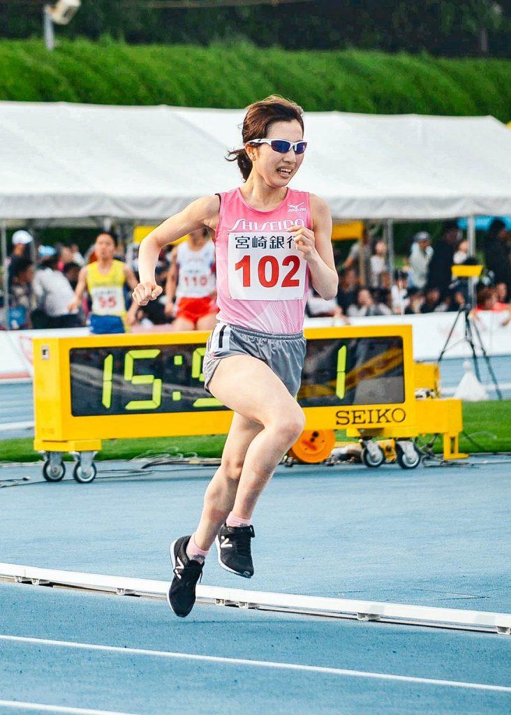 女子5000m C組 真柄選手