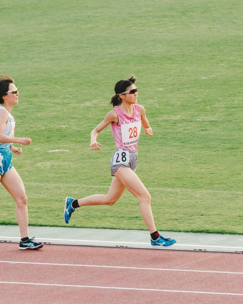 女子5000m 2組目 岡本選手