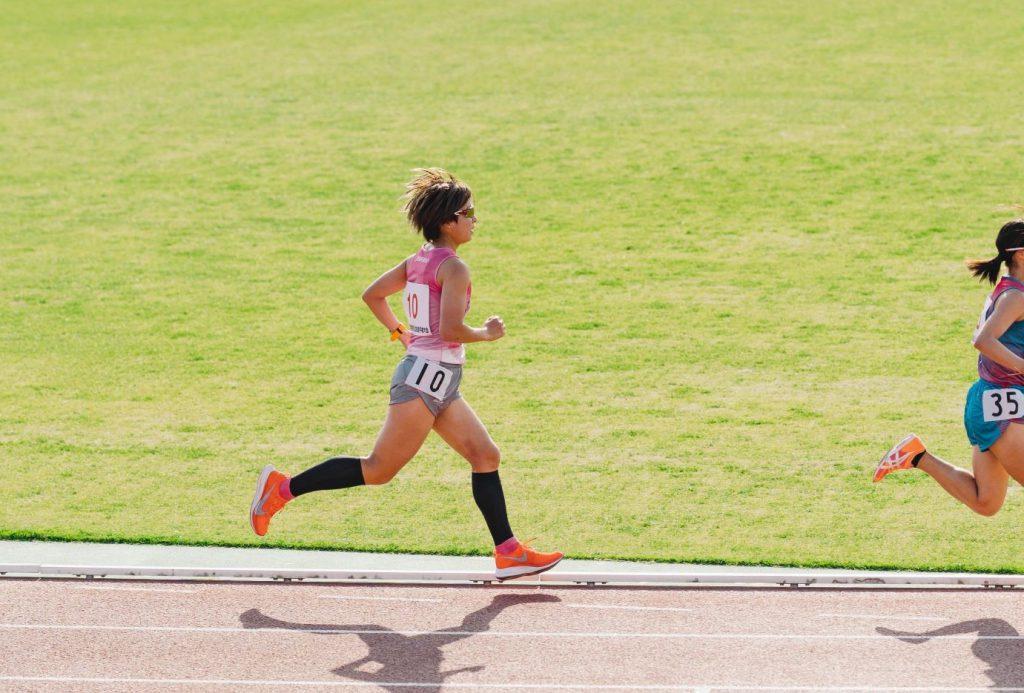 女子5000m 1組目 田中選手