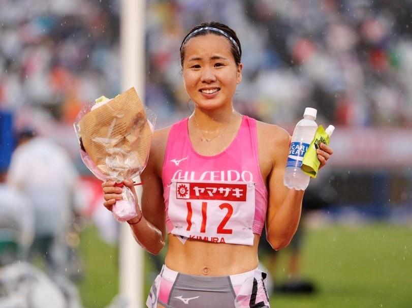 *初優勝を飾る木村選手(写真:EKIDENnewsさん提供)