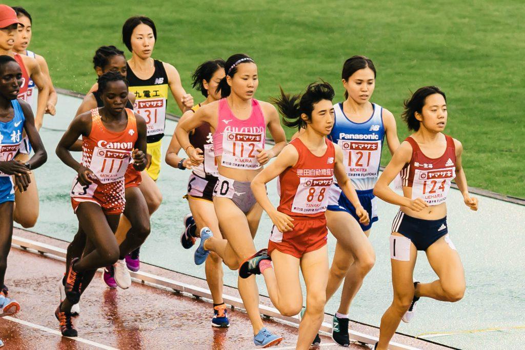 *先頭集団を走る木村選手