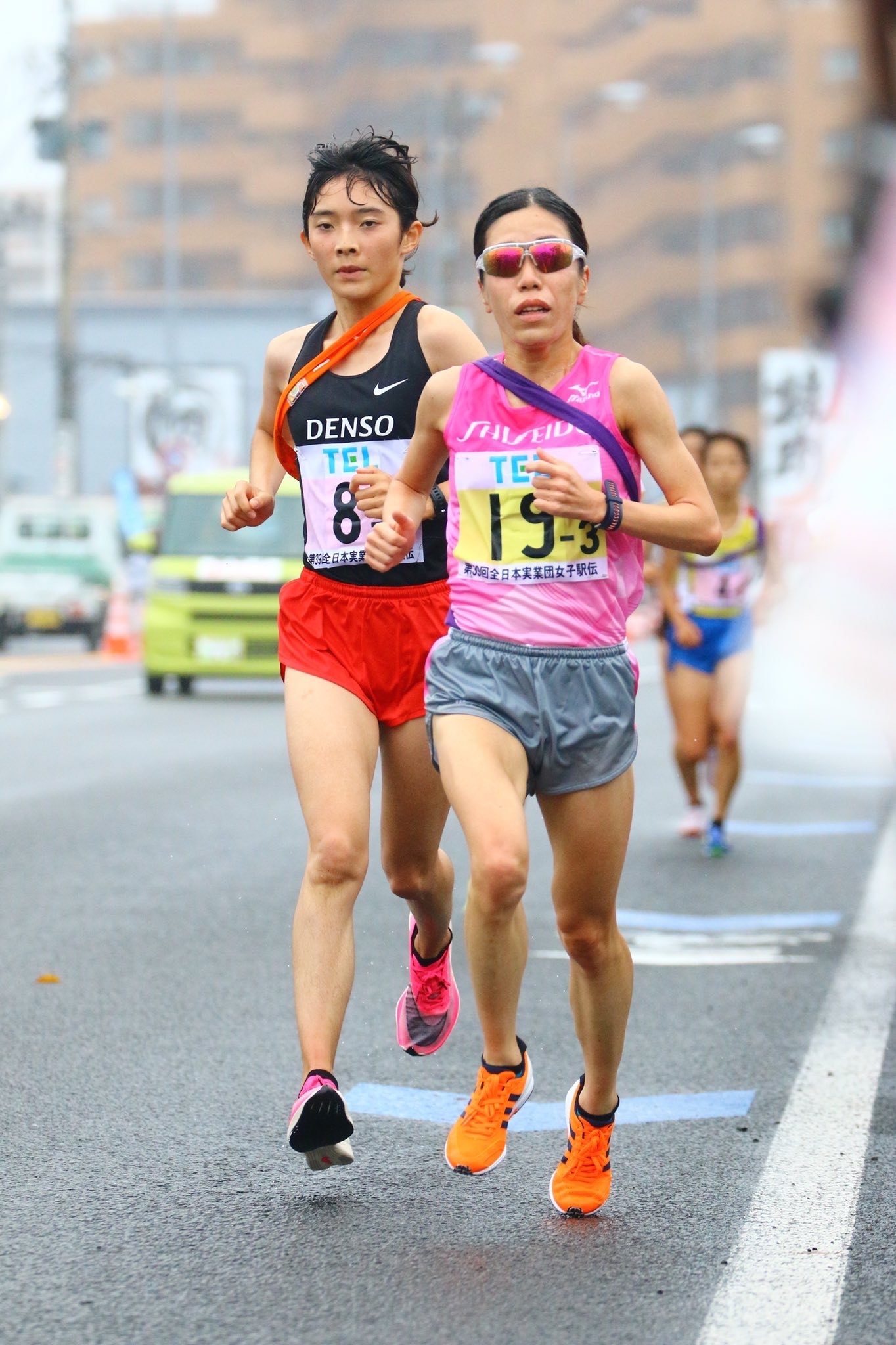 *3区を走る高島選手
